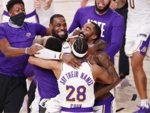 NBA Finals: Los Angeles Lakers beat Miami Heat to win 17th title