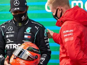 The path to The G.O.A.T is paved with race wins! Lewis Hamilton equals Michael Schumacher's 91 tally .....