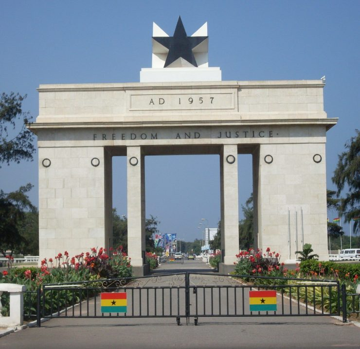 Freedom and Justice arch Ghana accra