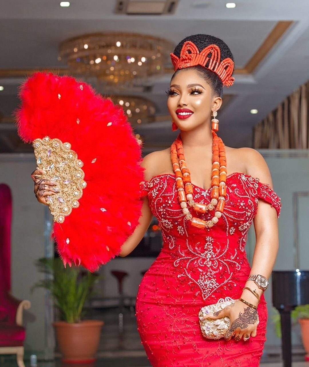Igbo traditional bride-inst