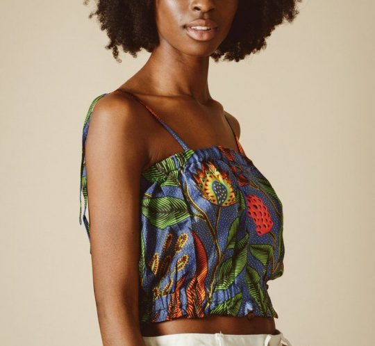 Mayamiko Nellie-Bubble-Crop-Top-Ethical-Fashion-Africa