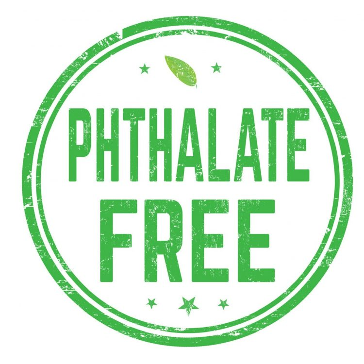 Phthalate free sign or stamp on white background, vector illustration